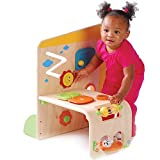 Wooden Early Exploration Panel Activity Center