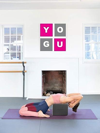 Amazon.com: YOGU - Bloques de yoga (1 o 2 unidades, espuma ...