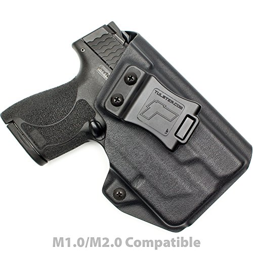 Tulster M&P Shield 9mm/.40 w/TLR-6 Holster IWB Profile Holster (Black - Right Hand)