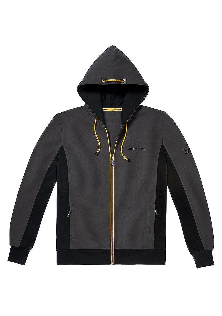 Mercedes Benz Jacket >> Amazon Com Mercedes Benz Embroidered Amg Gt Full Zip Jacket X