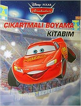 Disney Arabalar çıkartmalı Boyama Kitabım Kollektif Amazoncomtr