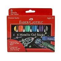 Faber-Castell Sticks Gel Metálico 6ct