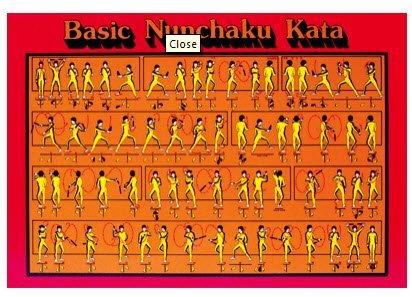 Bestselling Martial Arts Cord Nunchakus