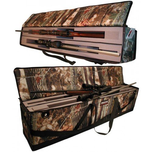 Lakewood Products Double Drop in Rifle Case, Camouflage, Large (Camo Rifle Double)