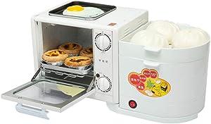 Multifunction Breakfast Machine Toaster Household Four in One Toaster Oven Omelette Steamer Egg Boiler Electric Steamer