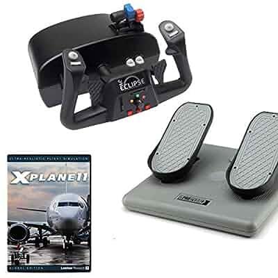 Amazon com: CH Products Pro Flight Simulation w/X-Plane 11