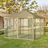 Sunjoy Mosquito Netting for 10′ x 10′ Butterfly Gazebo Review