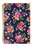 Bloom Daily Planners 2016-17 Academic Year Hard Cover Daily Planner - Passion/Goal Organizer - Monthly Datebook and Calendar - August 2016 - July 2017 - 6