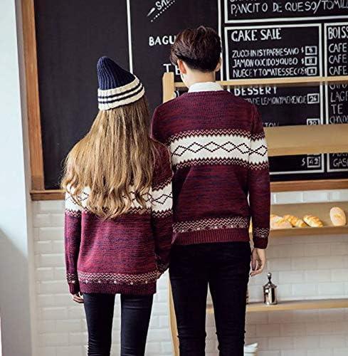 2018new ニットセーター レディース 秋冬 カップルセーター セーター ペアルック ニットセーター メンズ 厚手 3色 大きいサイズ スリムセーター トップス 男女兼用 カットソー インナー ご夫婦 新年祝い 2着の価格 お歳暮 冬 ギフト