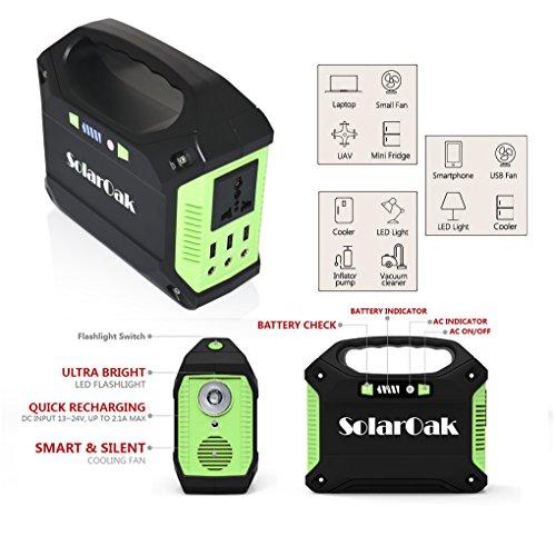 Solaroak Portable Generator Cpap Battery Pack Power Supply