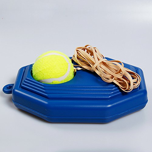 Tennis Ball Trainer Set with Long Elastic Rubber Band - 5