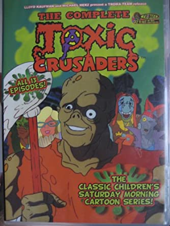 Amazon com: The Complete Toxic Crusaders (All 13 Episodes