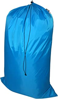 product image for Laundry Bag Heavy Duty Jumbo Sized Nylon Holds Approximately 40 lb Made in USA. (Turquoise)