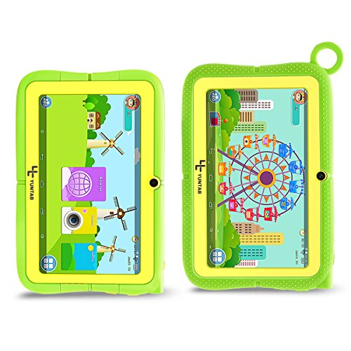 Green Kitchen App Android: Yuntab Q88R 7 Inch Kids Edition Tablet With Premium Parent