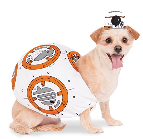 Rubies Costume 580417_S Star Wars VII: The Force Awakens BB-8 Pet Costume, Small (Unique Pet Costumes)