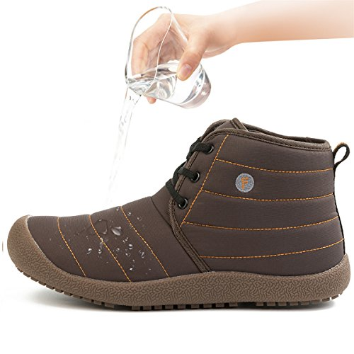 Waterproof Outdoor Athletic Walking Boot Classic Shoes Women's JIASUQI Brown Xq6Iwgw