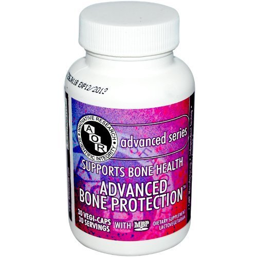 Advanced Orthomolecular Research AOR, Advanced Bone Protection with MBP, 30 Veggie Caps by Advanced Orthomolecular Research AOR