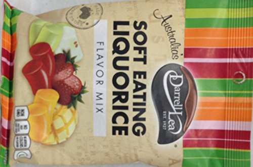 Darrell Lea Soft Eating Liquorice Flavor Mix Non GMO 7 Oz. Pack Of 3. by Darrell Lea