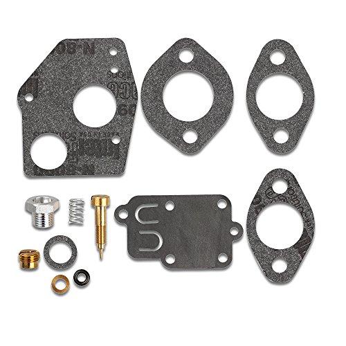 Kaymon Carburetor Carb Rebuild Kit 796184 Fit Briggs & Stratton 80200 81200 82200 133200 135200 92200 93200 136200 100200 111200 112200 130200 Engine 3-5HP Engine