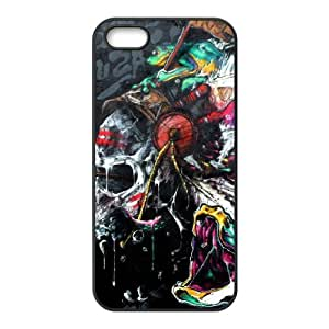 Skull iPhone 5,5S Case Black Yearinspace997064