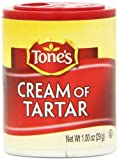 Tone's Mini's Cream of Tartar, 1.00 Ounce (Pack of 6) by Tone's