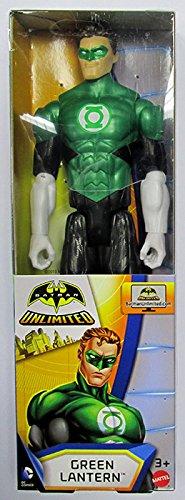 Mattel DJW76 DC Comics Batman Mechs Vs Mutants Green Lantern Figure with 9 points of articulation, 12-Inch