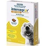 Interceptor Pet Meds for Small Dogs 3 Tasty Chews