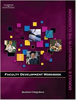 Faculty Development Companion Workbook Module 8: Faculty Development Workbook