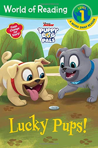 World of Reading: Puppy Dog Pals Lucky Pups (Level 1 Word Swap Reader)