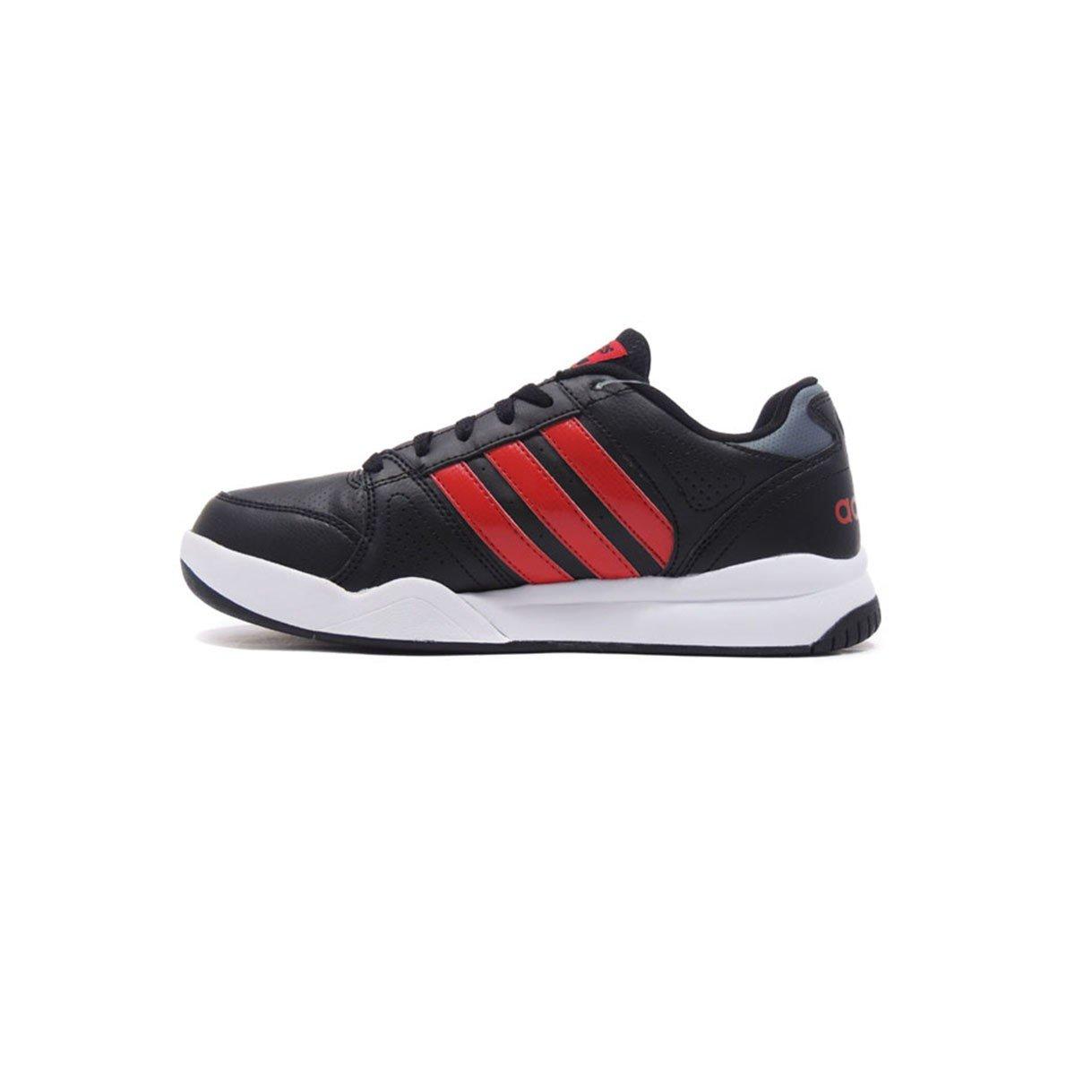 prima i clienti guarda bene le scarpe in vendita offrire adidas Scarpe Uomo Sneakers Cloudfoam VS Court in Pelle nera ...