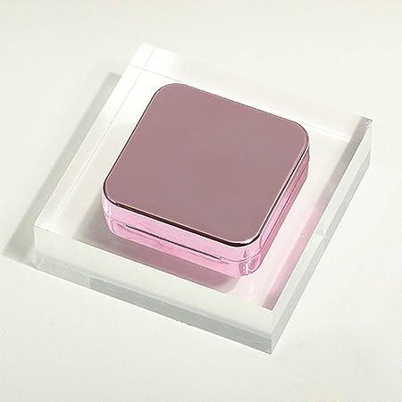 Conveniente Contacto Caja de lente, la caja chica Ins lente de ojo, simple y elegante estuche