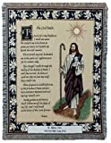Simply Home 23rd Psalm Tapestry Throw Blanket