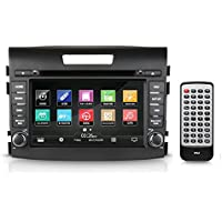 2012-2016 Honda CRV Replacement Stereo Receiver, GPS Navigation, Bluetooth Wireless, CD/DVD Player, 7'' HD Touchscreen Display, AM/FM Radio, Double DIN (PHOCRV12)