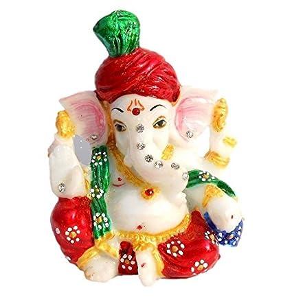 Fashion Bizz Ganesh Idol Car Decor,Home Decor,Office Décor
