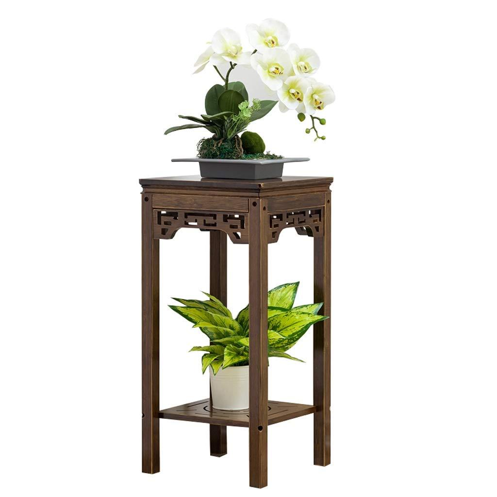 Small Lishirao Pine Wood Plant Stand Flower Stand Wooden Plant Flower Display Stand (Size   Big)