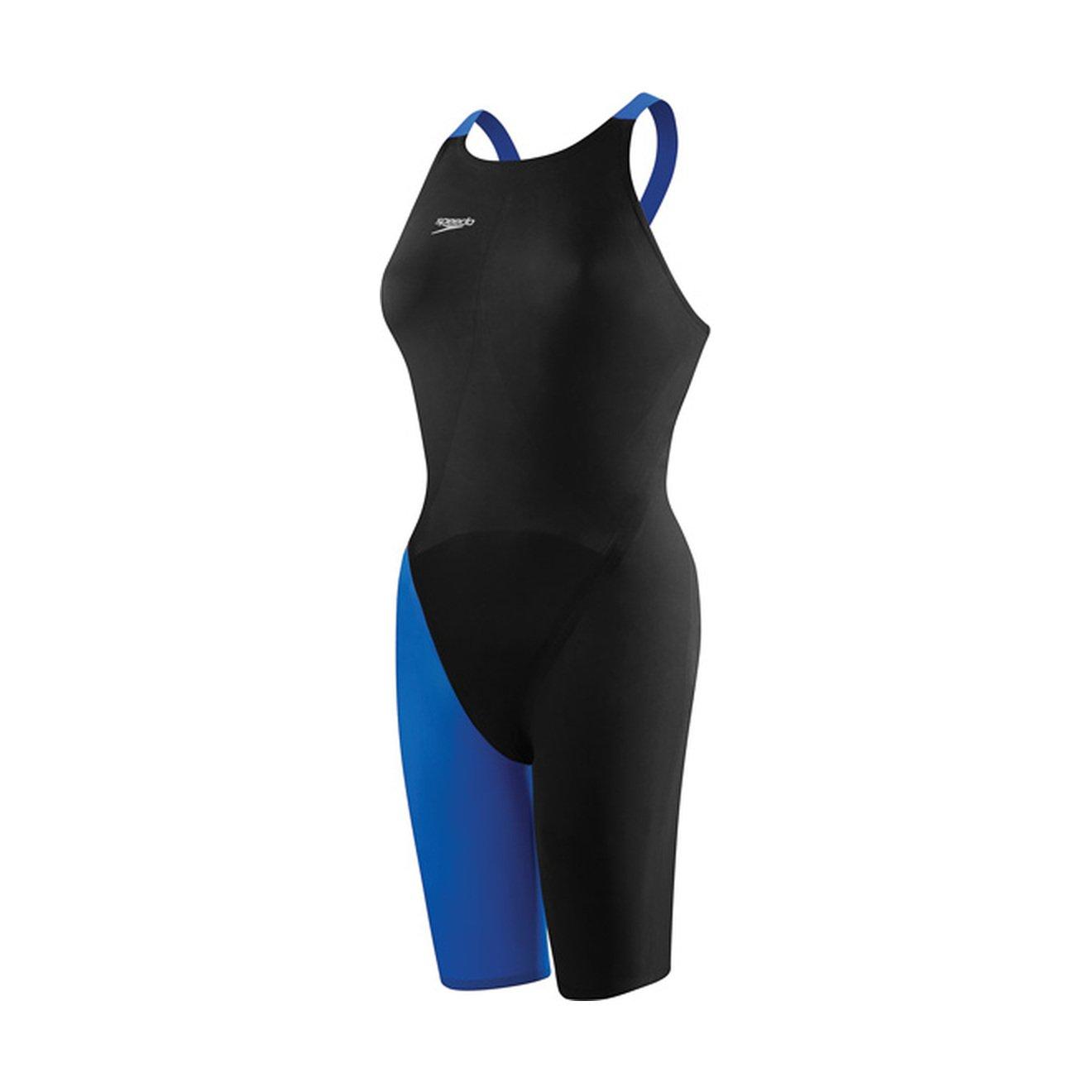 Speedo 7190722レディースLZRエリート2 Closed Back Swimsuit B00HP2VF0A Black / Sapphire 27 L 27 L|Black / Sapphire