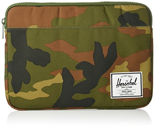 Herschel Supply Co. Unisex-Adult's Anchor New 13 inch MacBook Sleeve, woodland camo, One Size ()