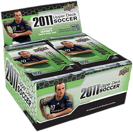 B004T3J8PW 2011 Upper Deck Soccer Retail (36 Packs) 517nuujbgjL