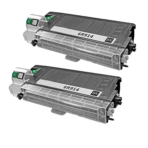 (2 Pcs) 100% Brand NEW Compatible Copier Toner Cartridge Xerox 6r914 (6,000 Pages)for Workcentre ()