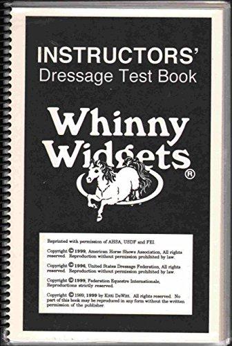 INSTRUCTORS' DRESSAGE TEST BOOK ()