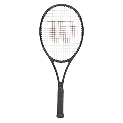 b05143613 Image Unavailable. Image not available for. Color  Wilson Pro Staff RF97  Federer Autograph Tennis ...