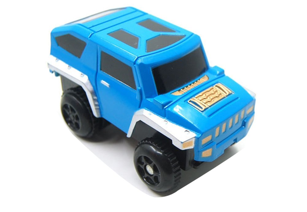 Erencook Car Track Toy Accessories Track Racing Car Toy Truck of Boys and Girls