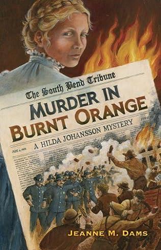 book cover of Murder in Burnt Orange
