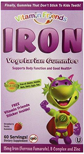 Supplément Amis Fer régime de vitamine, 60 comte
