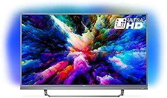 "Philips PUS7503 Smart TV UHD 4K, da 49""/55'', Android, Ultra Slim, Ambilight, [Esclusiva Amazon.it]"