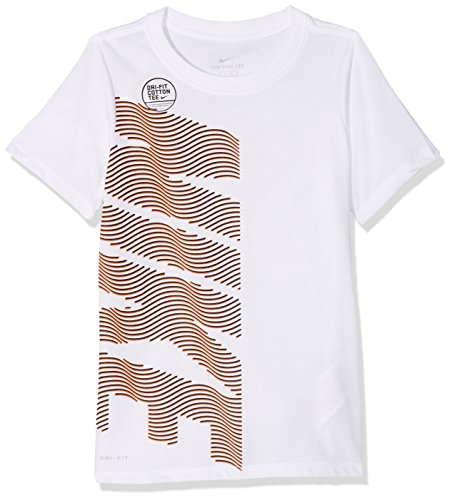 T shirt Dry Courtes Manches Nike Therma White B7qfO