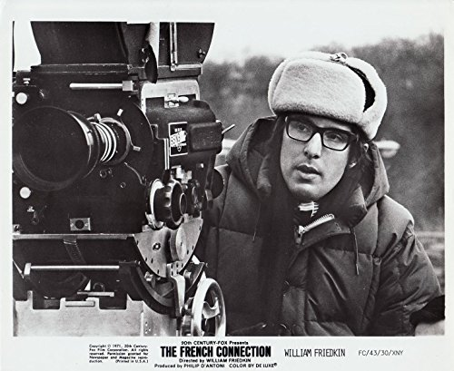 (FRENCH CONNECTION, THE (1971) Vtg orig 8x10 bw photo WILLIAM FRIEDKIN directing)