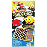 Ideal Magnetic Go Checkers Board Game