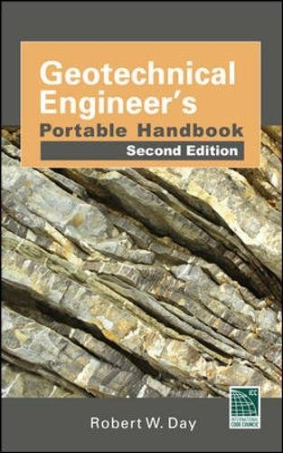 (Geotechnical Engineers Portable Handbook, Second Edition)