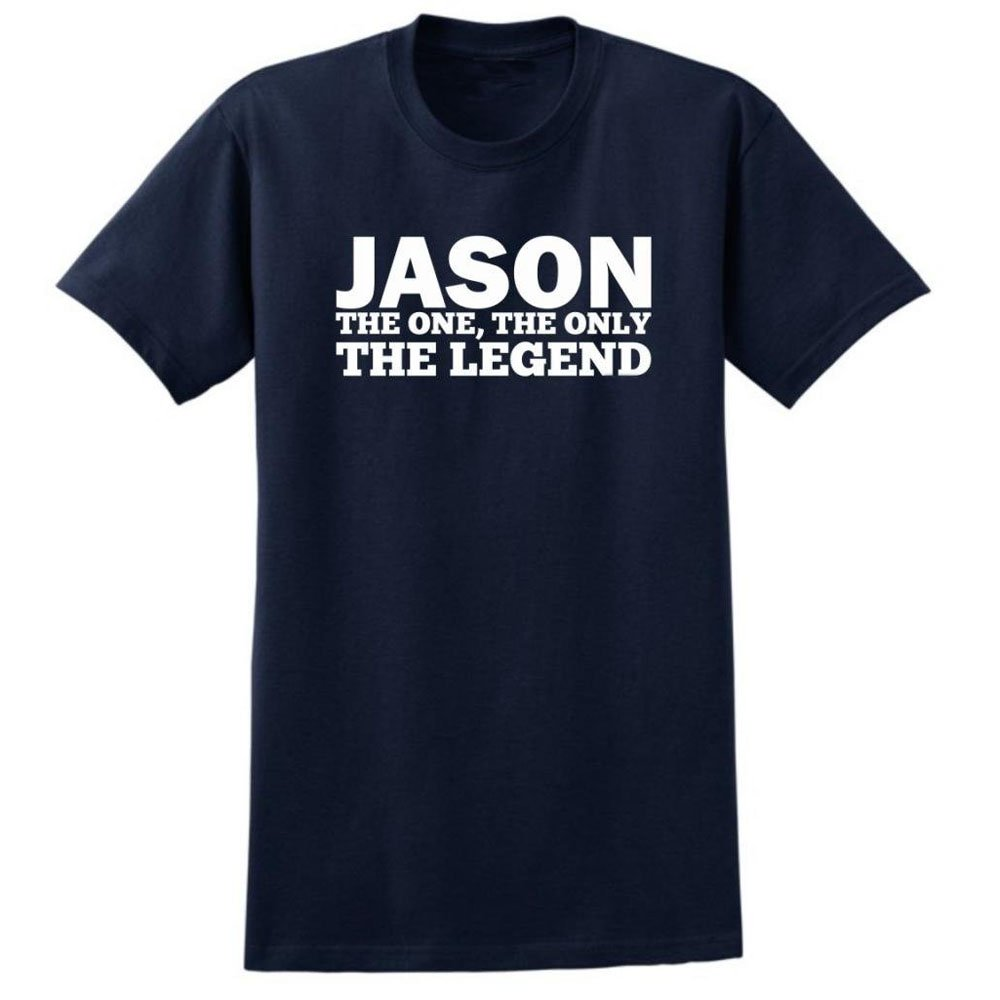 Loo Show Jason The One The Only The Legend Crew T Shirt Casual Tee